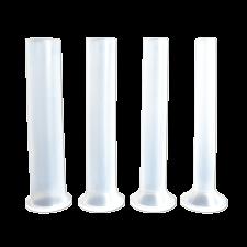 Набор пластиковых насадок на горизонтальные колбасные шприцы 3 кг